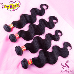 Peruvian Malaysian Indian Cambodian Brazilian Body Wave Virgin Hair Weave Bundles Natural Color Cheap Remy Human Hair Extensions Double Weft