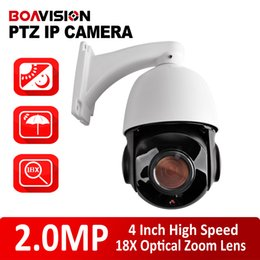 Wholesale 2 MP MM x Optical Zoom Onvif P High Speed Dome PTZ IP Camera CMS Browser Mobile View IR M or Day Vision M