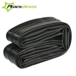 Tube 12 du pneu en Ligne-RockBros 26 * 1.95 / 2.10AV / FV VTT VTT Inner Tube de vélos Tube crevaison 700 * 18 / 25FV60mm Road Bike Tire Tyr intérieure