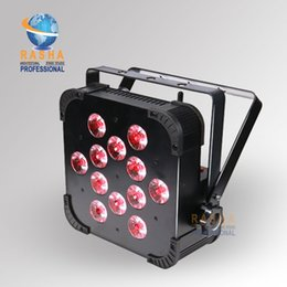 Wholesale HOT TINT V12 IN1 SLIM FLAT Par Profile W RGBAW colors DMX Par can american DJ Light