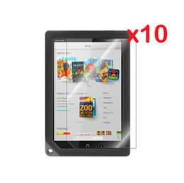 Wholesale Clear LCD Screen Protector Films Protective Film Guards for B amp N Barnes amp Noble Nook HD quot Tablet Free