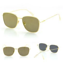 Vintage SQUARE metal sunglasses women mirrors GLASSES men lunette de soleil oculos masculino coating sunglass S0735
