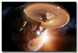 Wholesale Star Trek Movie Silk Wall Poster Uss Enterprise Space Travel x36 quot