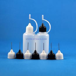 30 ML 100PCS High Quality plastic Needle Tip dropper bottle for e cig Vapor Vape E Liquid squeezable bottle