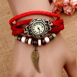Wholesale hot sale watches women vogue watch ladies bracelet wrist watch butterfly heart owl