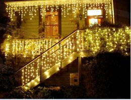 10M *0.65m 320LED Curtain Lights String Ice article lamp Christmas Party Wedding Holiday Decoration Flash String Fairy Lights Hot Sales