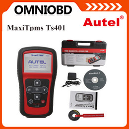 Wholesale AUTEL MaxiTPMS TS401 New generation TPMS Diagnostic and Service Tool easy access to the faulty TPMS sensor free online update