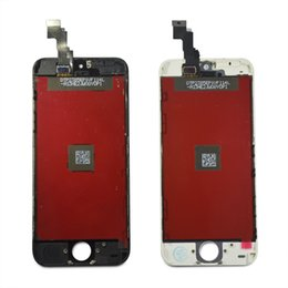 Wholesale 2016 Factory DHL For iPhone C S Lcd Display Touch Screen Digitizer Replacement parts in Full Assembly White Black