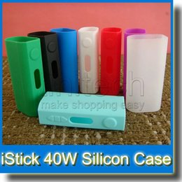 iStick 50W Colorful Silicon Cases Bag Rubber Sleeve Protective Cover Silica Gel Skin for iStick 50W New Arrival