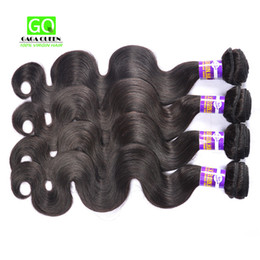 Wholesale Brazilian Virgin Hair Body Wave Hair Weave Bundles Dyeable wet and wavy Virgin Brazilian Hair Bundles A Bella Hair Extensions