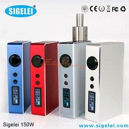 Wholesale Sigelei W Watt Mod Vaporizer Original Sigelei W Box Mod vv vw Battery Mod Better Than Sigelei W plus VS IPV3 Fit Battery
