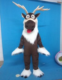 Adult Sven mascot costume Sven costume reindeer mascot costume from Frozen