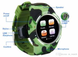 Wholesale Sport health SmartWatch Phone support Waterproof Java QQ Facebook Pedometer Calorie Test for outdoor wristwatches