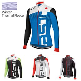 Cycling Clothes Winter Thermal Fleece Long Sleeve Cycling Jersey Only Winter Cycling Clothing Bicycle Sport Jerseys MTB Mountain Bike C-201