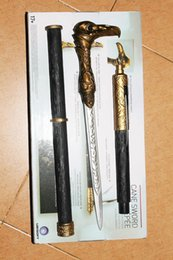 Wholesale NECA Assassin s Creed Syndicate Sword Cane Cosplay Weapon Jacob Frye Cane Hidden Blade Boxed PVC Action Figure Model Toy bk021