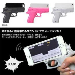 For iphone 4,5 6 Plus Fashion Creative 3D Gun Shape Hard phone Case Cover For iPhone 5  5S  6s Phone Case