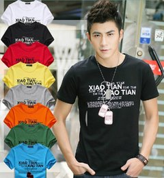 Wholesale Men T Shirts Print fashion men women short sleeves cotton cartoon T shirt tees summer clothing apparel colorful many designs gifts