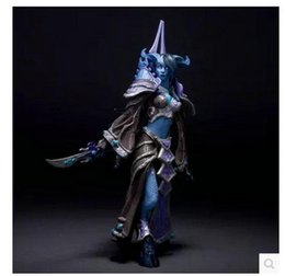 Wholesale Online Game Mage Action Figure DC Unlimited Series inch Draenei Mage Tamuura PVC Figure