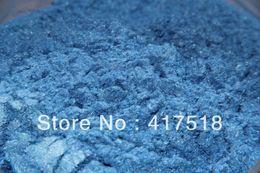 Wholesale Blue Mineral Eye Shadow NATURAL Vegan Talc Free No Preservatives