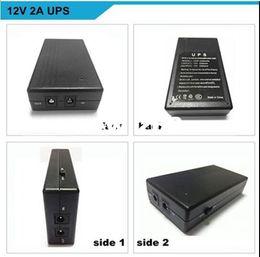 Wholesale 12V2A fingerprint time attendance Dedicated smart online UPS uninterruptible backup power supply