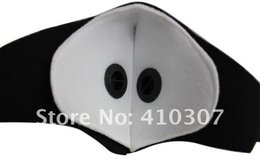 Wholesale Sport Half Face Mask Bicycle Anti pollution Mask Cycling Special Cutting Design Dust Air Allergens