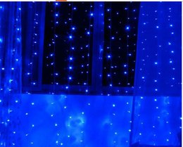 300 LED 3M*3M Curtain String Lights Garden Lamps Christmas Icicle Lights Xmas Wedding Party Decorations110v-250v white