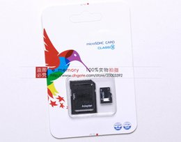 Wholesale 128 GB Class Micro SD TF Memory Card MicroSDHC Card with Free Adapter for Samsung Galaxy S4 S5 Note Mobile Phones Tabs