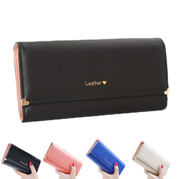 S5Q Womens PU Leather Long Cute Wallet Lady Vintage Clutch Purse Credit Card Bag AAAEBH