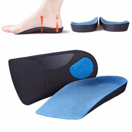 Wholesale Orthotic Insoles Insert Pad Sole Arch Support Flat Cushion Foot Soothers Pronation Fallen Flat Orthopedic Protect Heal Care