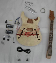 Wholesale New Arrival NEW DIY Electric Guitar Body Unfinished electric guitar body for neck with accessories From China
