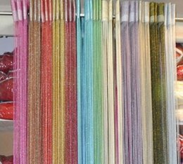 Wholesale 100 CM Special Silver Silk String Curtain String for Modern Living Room Door Partition Sheer Curtain Colors Home Textile