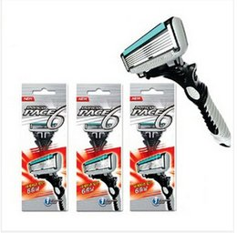 Wholesale Pace Razor Blades For Men DORCO Double Edge Shaver Safety Razors Mens Shaving Personal Stainless Steel Razor Blades T0209