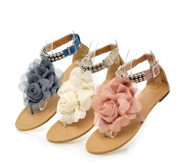 Free shipping Flower Sandals for Women Summer Lady Flower Slippers Size35-41 Fashion Women Shoes flat slipper
