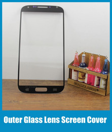 For Galaxy S4 Outer Screen Glass Lens Glass Digitizer Screen Cover Screen Protector For Samsung Galaxy S4 IV i9500 i9505 i337 SNP009