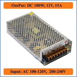 180W 12V 15A Switching Power Supply led driver for LED strip light bulb block power display input AC 220V 110V to DC 12V Transformers