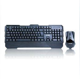 Wholesale-E-8060 wireless keyboard and mouse set desktop laptop keyboard
