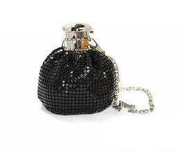 Wholesale New Arrivals Color Ladies Mini Aluminum Clutch Bag Women Casual Coin Purse Money Bag Evening Party Handbags Dinner Clutches Bag