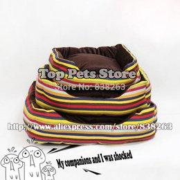 Fuentes del perro muelles en venta-Animales domésticos: artículos de lona de color café Gatos Perros casas nido dulce cómoda cama del perro de la primavera otoño invierno caliente del envío libre de la perrera