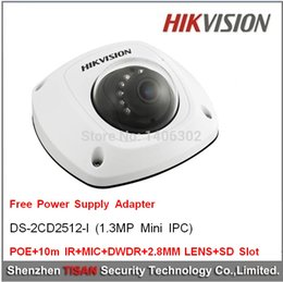 1.3Megalpixel POE,cctv security,video surveillance,MIC,10m IR(Infrared) ,Hikvision IP66 Network Mini Dome Camera