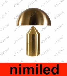 Wholesale nimi786 Atollo Oluce Table Lamp Desk Lights Desk Light Bedroom Living Room Lights Hotel Study Room Lamps Bedside Bar Cofe Mushroom Lighting