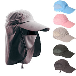 Wholesale New Arrival Men Women Sunshade UV Protection Sun Hat Fishing Bucket Cap For Outdoor Camping Hiking UPF