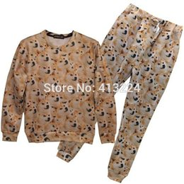 FG1509 [Mikeal] New Fashion many Dogs printed 3d tracksuits for men women 3d joggers and sweatshirts suits animals hoodies Z22