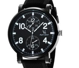 2015 arrivals V6 Fashion Casual Quartz Men Watch sport Wild Wristwatch Dropship silicone Clock Fashion Hours Dress Watch CHRISTMAS GIFT