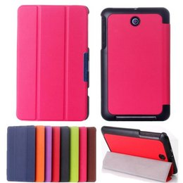 Wholesale Best Promotin Fashion Design Ultra Slim Tri Fold Stand PU Leather Folio Case Cover For Asus Memo Pad ME176C Holster Colors order lt no t