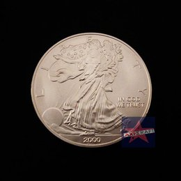 Wholesale American libery Eagle Coin Silver plated craft Silver Clad Coin souvenir coin Commemorative coin wholesales