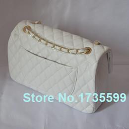 Promotion chain bag women s handbag Gros-femme cuir Sacs Messenger Chains Famous Brand Plaid Moraillon PU Handbag 2015 Big Crossbody Tote Sac à bandoulière de bonbons femmes