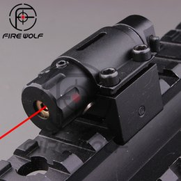 Wholesale Tactical Hunting Super Mini Red Dot Laser Sight for Pistol Handgun With mm Rail