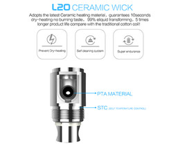 Wholesale Greensound LSS L20 LSbox ceramic atomizer coil also fit for L20 atomizer L20 coil with ohm resistance and self cleaning system function