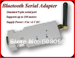 Wholesale DHL meter DB9 Com port bluetooth Class RS232 Bluetooth Serial adapter