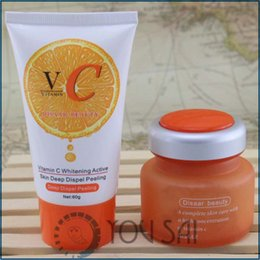 Wholesale sunscreen and anti spot vitamin c peeling gel with foundation with facial cleanser for